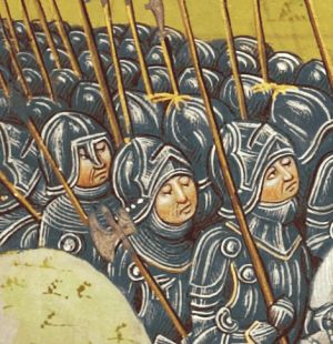 Detail from The Battle of Aljubarrot